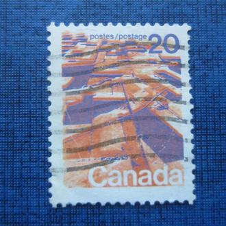 Марка Канада стандарт 20 центов гаш
