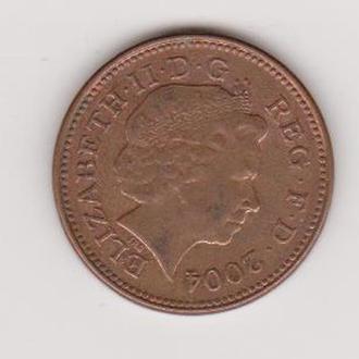2004 Великобритания 1 пени