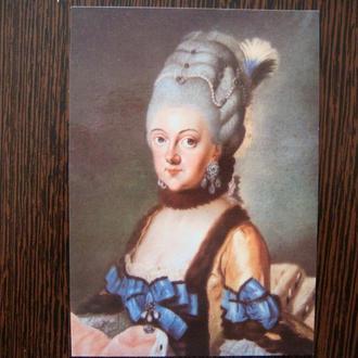 Открытка Веймар Картина Ейнсиус 1780