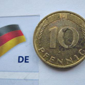 Германия 0.10 немецких марок 1996 год (J)