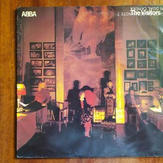 LP ABBA The Visitors OIS Англия