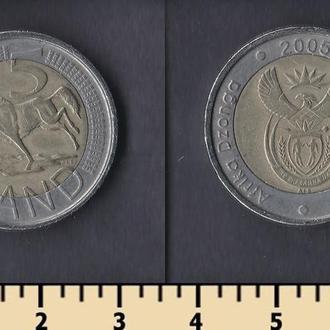 ЮАР 5 РАНДОВ 2005