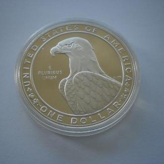 Монета США 1 долар 1983 рік 1 доллар 1983 год Срібло ХХІІІ Олімпіада у Лос-Анжелесі Поліровка у капс
