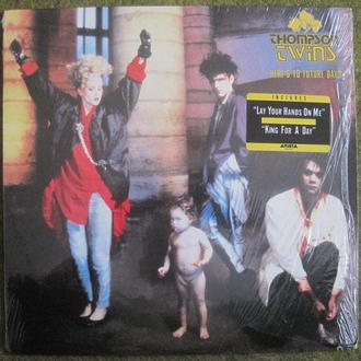 "THOMPSON TWINS  Here's To Future Days     LP 12""  USA.  Ex+/NM-"