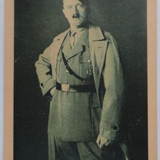 Фотооткрытка, Третий Рейх, Адольф Гитлер, фотолистівка, почтовая карточка, поштова картка