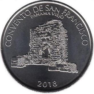 Shantaaal, Панама 1/2 бальбоа 2018. Монастырь Сан-Франциско