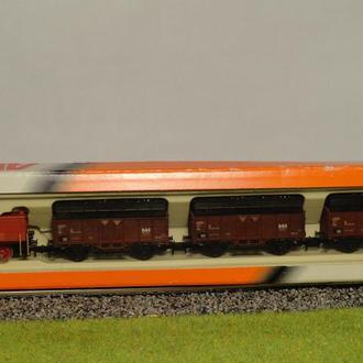 (1346) набор из локомотива и трех вагонов  Arnold 0268 в масштабе N (1:160)