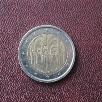 Испания. 2 евро. 2010г.