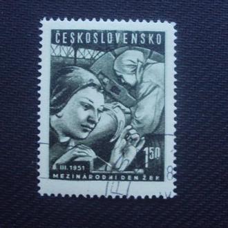 ЧССР 1951 гаш.