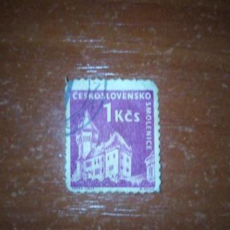 Почтовая марка Чехословакии