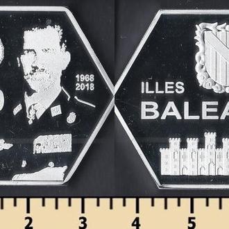 БАЛЕАРСКИЕ ОСТРОВА 2000 ПЕСЕТ 2018
