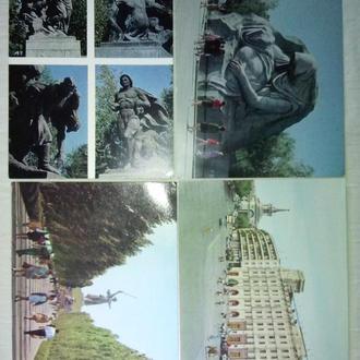 Волгоград. Комплект из 8 открыток.