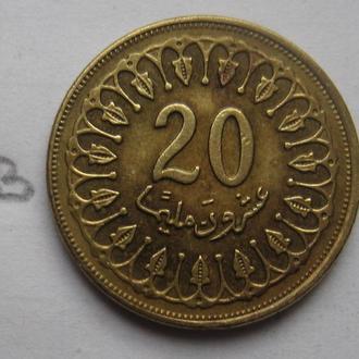 ТУНИС 20 миллим 1997 года.