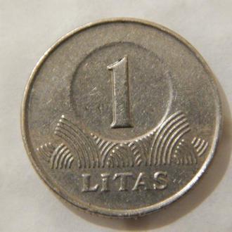 Литва 1 лит 1998г.