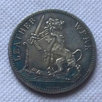 5 франков 1867 год  Швейцария стрелковый фестиваль Швиц