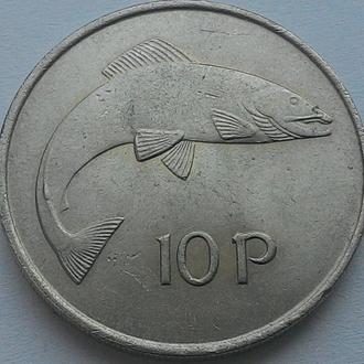 Ирландия 10 пенни 1969 год