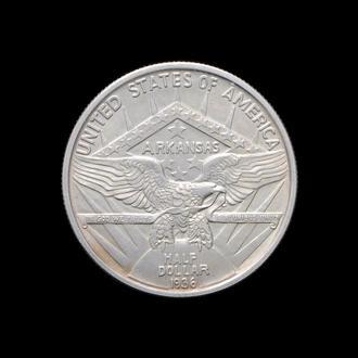 50 Центов / 1/2 Доллара 1936 Арканзас,(160) США