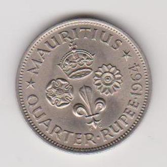 Маврикий. Четверть рупии