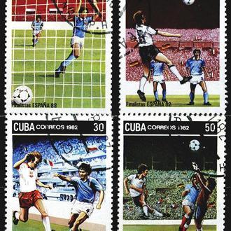 Куба. Футбол (серия) 1982 г.