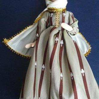 Кукла фарфоровая китайская в национальном костюме