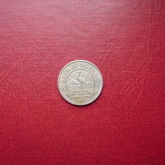 Уганда 1 шиллинг 1972 Редкий год