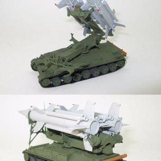 Круг 2К11, по НАТО — SA-4 Ganef  советский зенитно-ракетный комплекс - 1:87(H0)