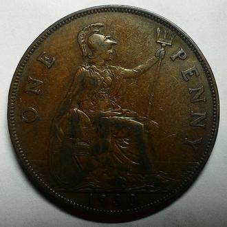 Англия 1 пенни 1930 год