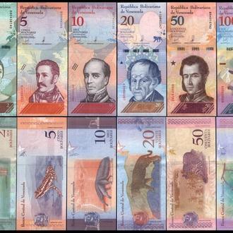 ВЕНЕСУЭЛА набор банкнот ( 2 5 10 20 50 100 )  2018г. UNC