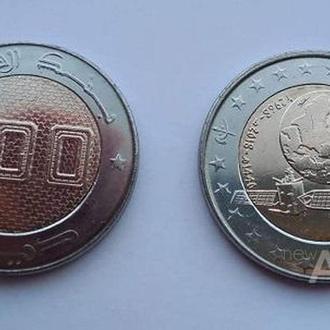 Алжир 100 динар 2018 UNC