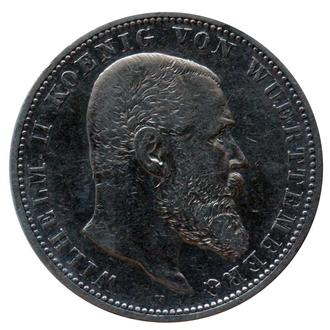 5 марок 1900 р, Вюмтенберг