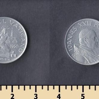Ватикан 5 лир 1960
