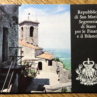 Сертификат Сан Марино 1000 лир 1976 Серебро