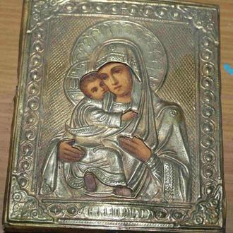 Икона Божья Матерь(В.С. Крестьяниновь) 11х13,5 см.