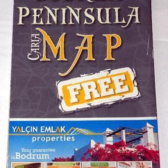 Карта Бодрума Турция