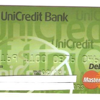Банковская карта   UniCredit Bank