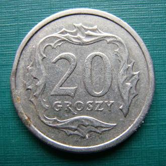 Польша 20 грош 2007