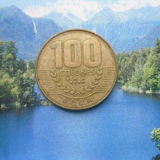 Коста-Рика 100колон 1999г