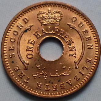Нигерия 1:2 пенни 1959 состояние