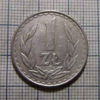 Польша, 1 злотый 1982