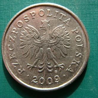 Польша 1 злотый 2009