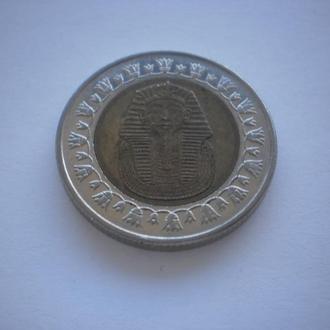 Тутанхамон. Фараон Єгипту. Монета Єгипту. Єгипет. Египет. 1 фунт. Красивий стан. Недорого.