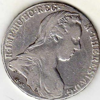 Австрия таллер 1780г