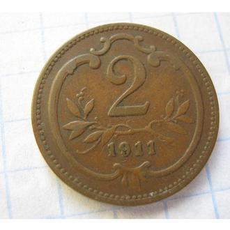 2 ГЕЛЛЕР 1911 АВСТРО-ВЕНГРІЯ