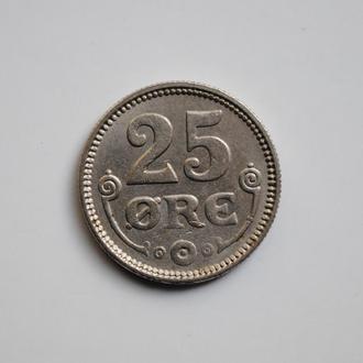 Дания 25 эре 1921 г., 'Король Кристиан X (1912-1947)'