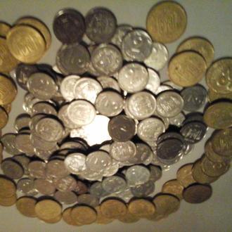 2010 год 194 монеты. 25 копеек х 39 штук, 2 копейки х 155 штук