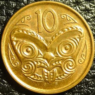 10 центів Нова Зеландія 2011