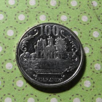 Парагвай 2012 год монета 100 гуарани !