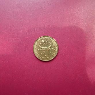Мадагаскар 20 франков 1982