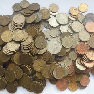 монеты ссср. 1коп.2коп.3коп.5коп.10кол-20коп.5окоп.1руб.юбилейные50коп.