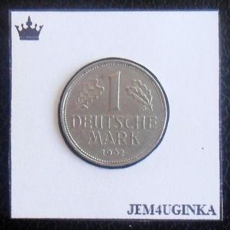 Германия. 1 марка 1962 г. (J). Состояние!